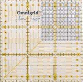 Omnigrid 611 306 liniaal 15x15cm