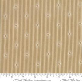 Moda Basic Minick & Simpson Crystal Lake Wood Pulp Diamond Stripes 14874 16