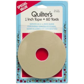 "COLC141 Quilters Tape 1/4"" 60 yards"