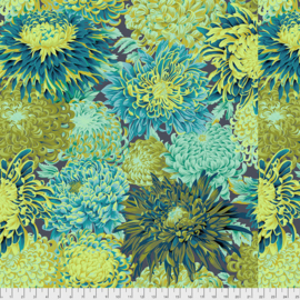 Kaffe Fassett Collective Japanese Chrysanthemum PWPJ041 Forest