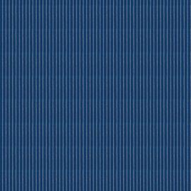 Westfalenstoffe W4147150 Klassiker Streifen blau-weiss