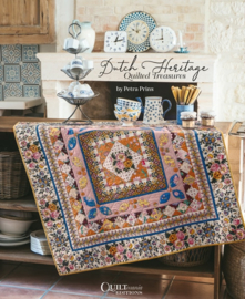 Quiltmania Dutch Heritage Quilted Treasures by Petra Prins