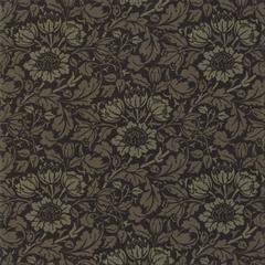 Moda Best of Morris Fall Flowering Scroll 33492-22 Ebony