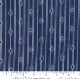 Moda Basic Minick & Simpson Crystal Lake Dark Blue 14874 12