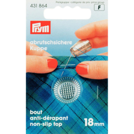 Prym 431 864 metalen vingerhoed 18mm