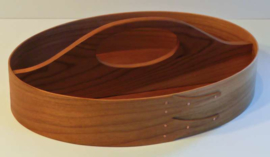 Traditional Shaker Tray in Cherry (32x23x6cm)