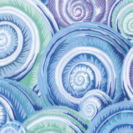 Kaffe Fassett Collective Fall 2016 Spiral Shells PWPJ073.SKYBLUE