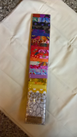Jelly-strip Kaffe Fassett multi colour