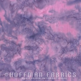 Stof Hoffman Batik Bali hand-dyed Lila 3018-091
