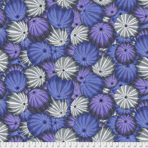 Kaffe Fassett Collective  Sea Urchins PWPJ100.GREY