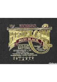 Batting/vulling Hobbs Heirloom Queen 80%-20% zwart - black