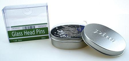 Nifty Notions Glass Head Pins 200st. 50mm