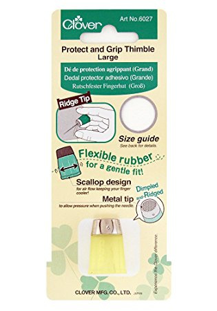 Clover 6027 Large Protect and Grip Thimble