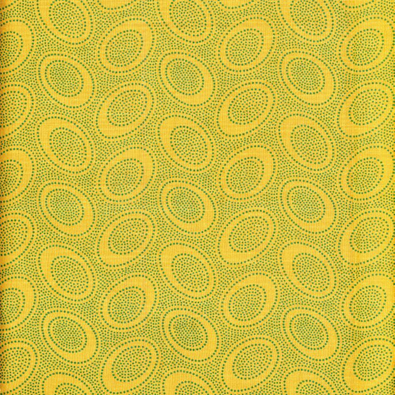 Kaffe Fassett Collective Aboriginal Dots GP71.OCHRE
