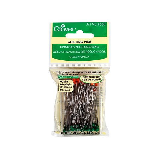 Clover 2508 Quilting Pins / Quilt Spelden lang