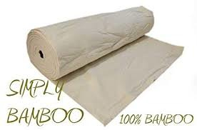 vulling / batting Luna Simply 100% Bamboo  van de rol 300cm breed!