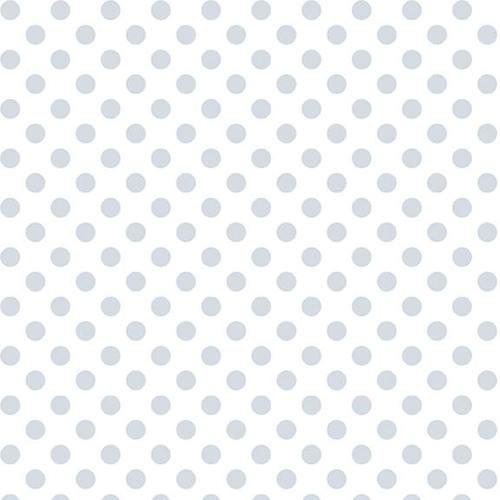 Henry Glass Quilter's Flour1888-01W (let op: dit is een witte stip op een witte stof, heel subtiel.)