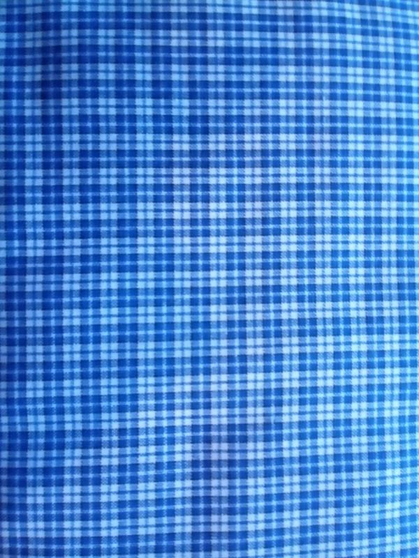 Westfalenstoffe Karo ruit blau-weiss W4170800