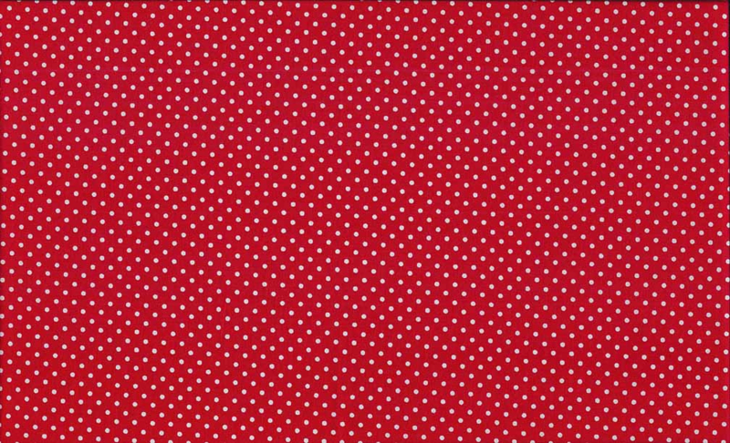 Makower Spot on 24 Shades 830-R Bright Red