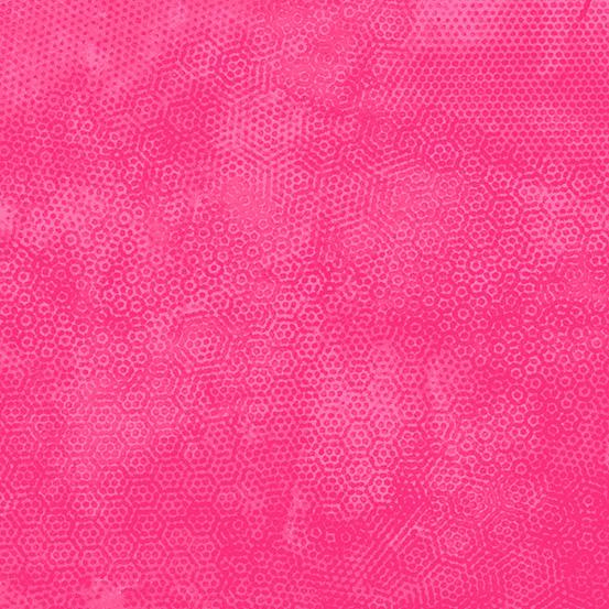 Makower Dimples 1867-E24 Scorching Pink