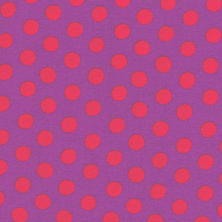 Kaffe Fassett Collective Classic Spot GP70.PURPL