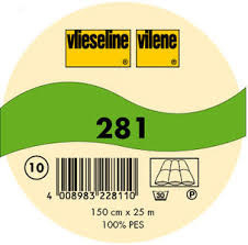 Vlieseline Batting-vulling 281/280 - 100% polyester van de rol. 150breed