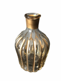 Striped candle holder Medium