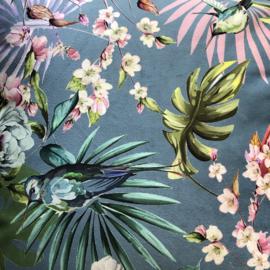 Kussen tropical birds