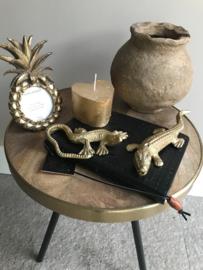 Reptiel ornament antiek bronze
