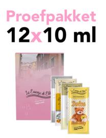 Proefpakket 12 x 10 ml