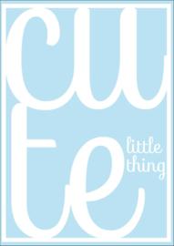 Ansichtkaart a cute Little thing