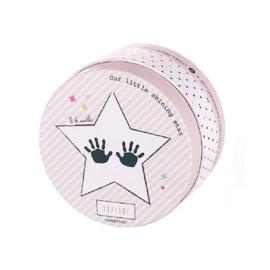 Baby handprint foam 0-6 maanden