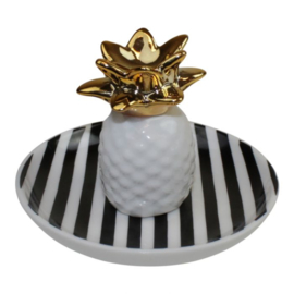 Jewelry plate Pineapple