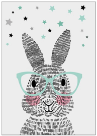 Poster Mr. Rabbit A3-formaat