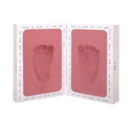 Baby voetprint foam 6-36 maanden