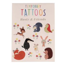 Tijdelijke tattoos Rusty and Friends