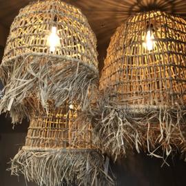Bamboe lamp Brisa