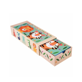 Puzzel stapelblokken
