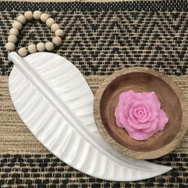 Witte veer keramiek ceramics feather