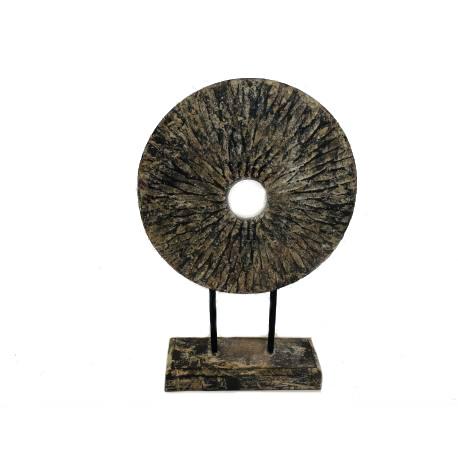 Coin van hout