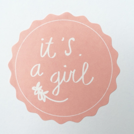 IT'S A GIRL