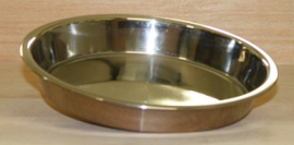 rvs badschaal 25 cm