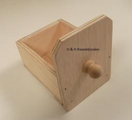 H & H kanarienestje voor nestkastdeur
