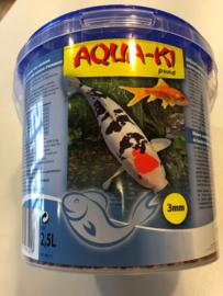 Aqua-Ki blauw korrel 3 mm 2,5L