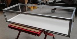 Caviabak plexiglas met aluminium