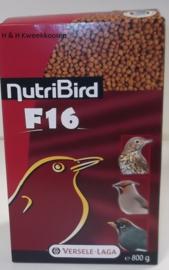 Nutribird F16 800 gram