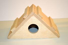 Hamster slaaphok hout