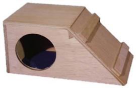 cavia slaaphok hout schuin