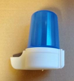 Nieuw! Superfontein laag 140 cc blauw