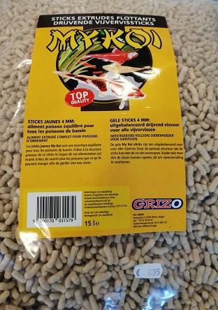 My Koi Stick geel 15L